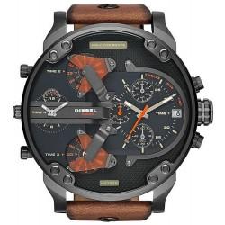 Men's Diesel Watch Mr. Daddy 2.0 DZ7332 Chronograph 4 Time Zones