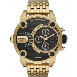 Buy Men's Diesel Watch Little Daddy DZ7412 Dual Time Chronograph