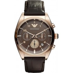 Buy Men's Emporio Armani Watch Franco AR0371 Chronograph