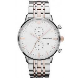 Buy Men's Emporio Armani Watch Gianni AR0399 Chronograph