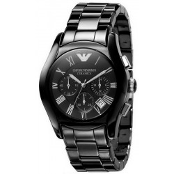 Buy Men's Emporio Armani Watch Ceramica AR1400 Chronograph