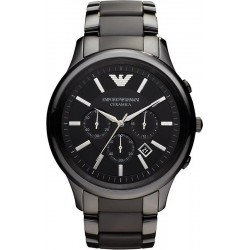 Buy Men's Emporio Armani Watch Ceramica AR1451 Chronograph