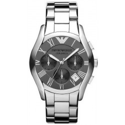 Buy Men's Emporio Armani Watch Ceramica AR1465 Titanium Chronograph
