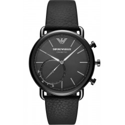 Buy Men's Emporio Armani Connected Watch Aviator ART3030 Hybrid Smartwatch