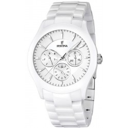Buy Men's Festina Watch Ceramic F16639/1 Multifunction Quartz