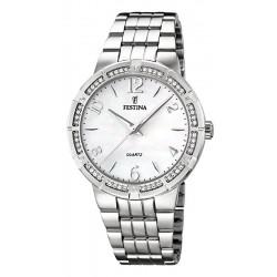 Buy Women's Festina Watch Mademoiselle F16703/1 Mother of Pearl Quartz