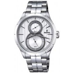 Men's Festina Watch Retro F16891/1 Quartz