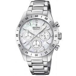 Buy Women's Festina Watch Boyfriend F20397/1 Quartz Chronograph