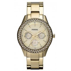 Women's Fossil Watch Stella ES3101 Quartz Multifunction