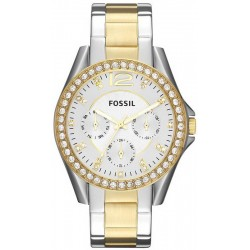 Buy Women's Fossil Watch Riley ES3204 Multifunction Quartz
