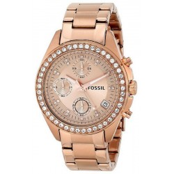 Buy Women's Fossil Watch Decker ES3352 Chronograph Quartz