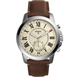 Fossil Q Grant Hybrid Smartwatch Men's Watch FTW1118