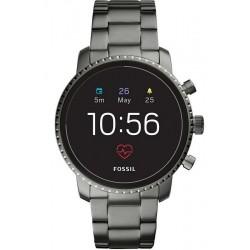 Fossil Q Explorist HR Smartwatch Men's Watch FTW4012
