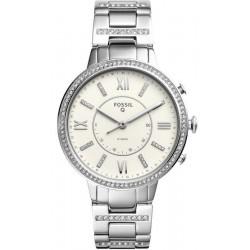 Buy Fossil Q Virginia Hybrid Smartwatch Women's Watch FTW5009