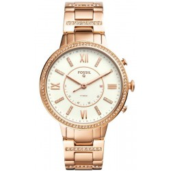 Fossil Q Virginia Hybrid Smartwatch Women's Watch FTW5010