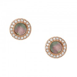 Buy Women's Fossil Earrings Classics JF02949791 Mother of Pearl