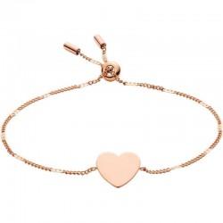 Women's Fossil Bracelet Vintage Iconic JF02965791 Heart