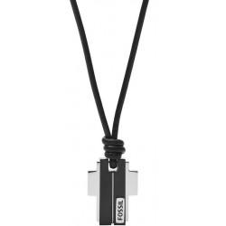 Buy Men's Fossil Necklace Mens Dress JF03125998