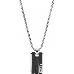 Buy Men's Fossil Necklace Mens Dress JF03126998