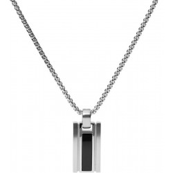 Buy Men's Fossil Necklace Mens Dress JF03173040