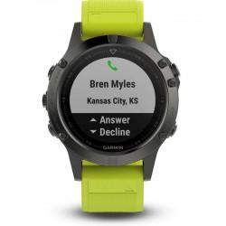 Men's Garmin Watch Fēnix 5 010-01688-02 GPS Multisport Smartwatch