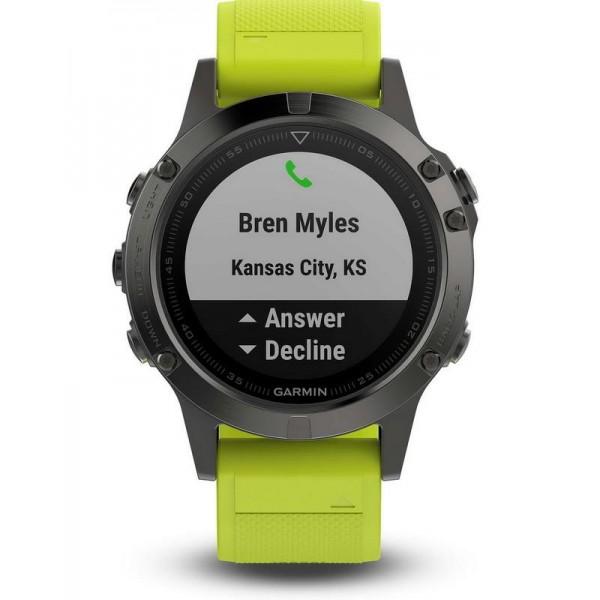 Buy Men's Garmin Watch Fēnix 5 010-01688-02 GPS Multisport Smartwatch