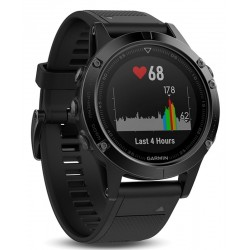 Buy Men's Garmin Watch Fēnix 5 Sapphire 010-01688-11 GPS Multisport Smartwatch