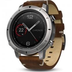Men's Garmin Watch Fēnix Sapphire Chronos 010-01957-00 GPS Multisport Smartwatch