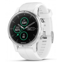 Men's Garmin Watch Fēnix 5S Plus Sapphire 010-01987-01 GPS Multisport Smartwatch