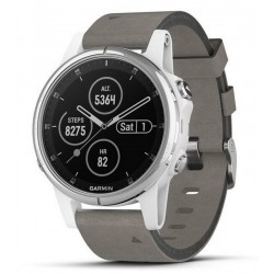 Buy Men's Garmin Watch Fēnix 5S Plus Sapphire 010-01987-05 GPS Multisport Smartwatch