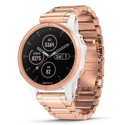 Men's Garmin Watch Fēnix 5S Plus Sapphire 010-01987-11 GPS Multisport Smartwatch
