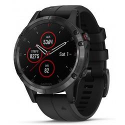 Men's Garmin Watch Fēnix 5 Plus Sapphire 010-01988-01 GPS Multisport Smartwatch