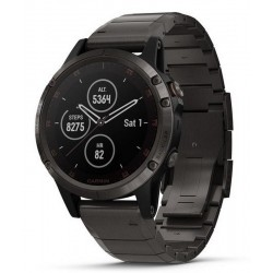 Buy Men's Garmin Watch Fēnix 5 Plus Sapphire 010-01988-03 GPS Multisport Smartwatch