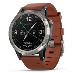 Men's Garmin Watch D2 Delta Sapphire Aviator 010-01988-31 Aviation GPS Smartwatch