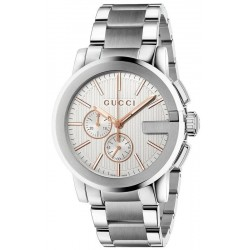 Buy Men's Gucci Watch G-Chrono XL YA101201 Quartz Chronograph