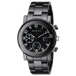 Buy Unisex Gucci Watch G-Chrono YA101352 Ceramic Quartz Chronograph
