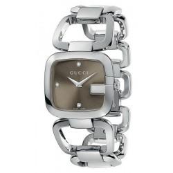 Buy Women's Gucci Watch G-Gucci Medium YA125401 Diamonds Quartz