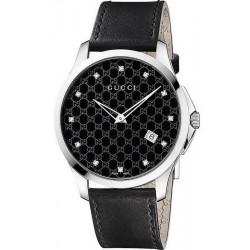 Buy Unisex Gucci Watch G-Timeless YA126305 Diamonds Quartz
