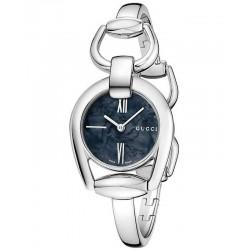 Women's Gucci Watch Horsebit Small YA139503 Mother of Pearl Quartz