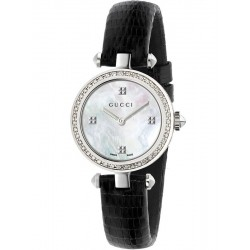 Buy Women's Gucci Watch Diamantissima Small YA141507 Diamonds Mother of Pearl
