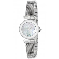 Buy Women's Gucci Watch Diamantissima Small YA141512 Diamonds Mother of Pearl