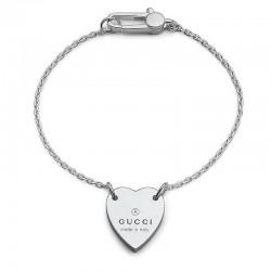 Buy Women's Gucci Bracelet Trademark YBA223513001017 Heart