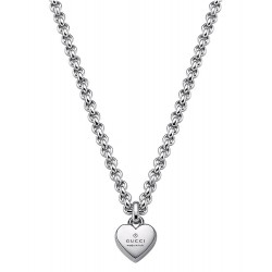 Buy Women's Gucci Necklace Trademark YBB35622500100U Heart