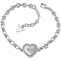 Buy Women's Guess Bracelet Iconic UBB21516-S Heart
