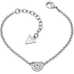Buy Women's Guess Bracelet Crystals of Love UBB51413 Heart