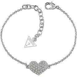 Buy Women's Guess Bracelet Basic Instinct UBB51488 Heart