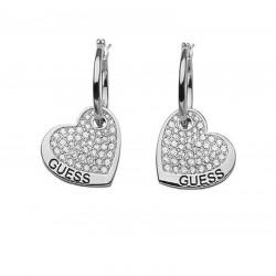 Buy Women's Guess Earrings UBE11416 Heart