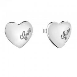 Buy Women's Guess Earrings Heartbeat UBE61053 Heart