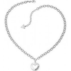Buy Women's Guess Necklace G Girl UBN51430 Heart