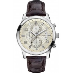 Buy Men's Guess Watch Exec W0076G2 Chronograph